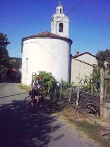 Io e la bici a Squaneto nel 2009