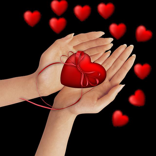 Cuoricini : Dono, amore e solidarietà