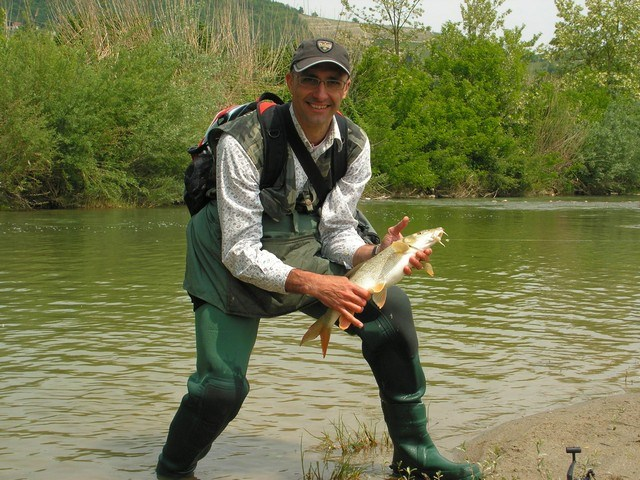 Fiume Bormida dopo la chiusura dell'Acna: Pesca Sportiva nel fiume