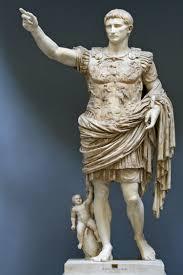Statua di Augusto, primo Imperatore Romano