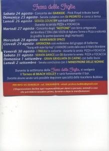 Langhe- Monferrato: Bubbio: Festa delle figlie