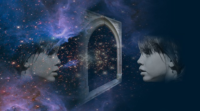 Amore,specchio dio Dio