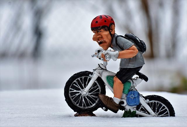 La bici si dice che rilassa