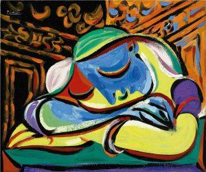 """Picasso: """"Jeune Fille Endormie"""""""