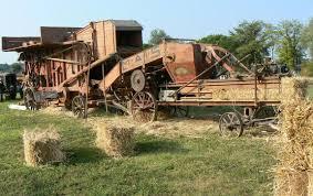 Trebbiatura del grano: La macchina da bote
