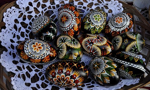 Pasqua: Uova colorate