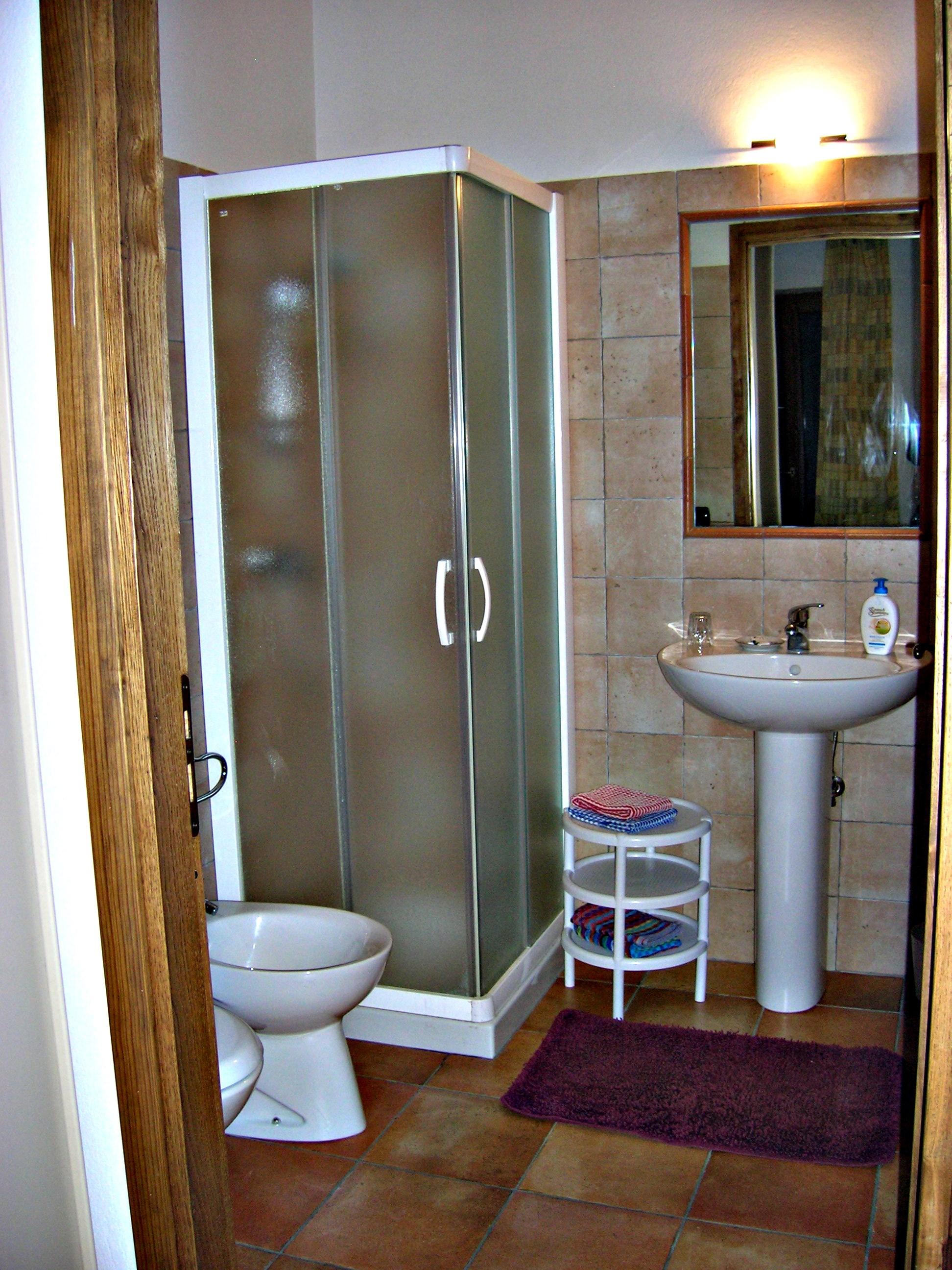 Bagno privato camera 1