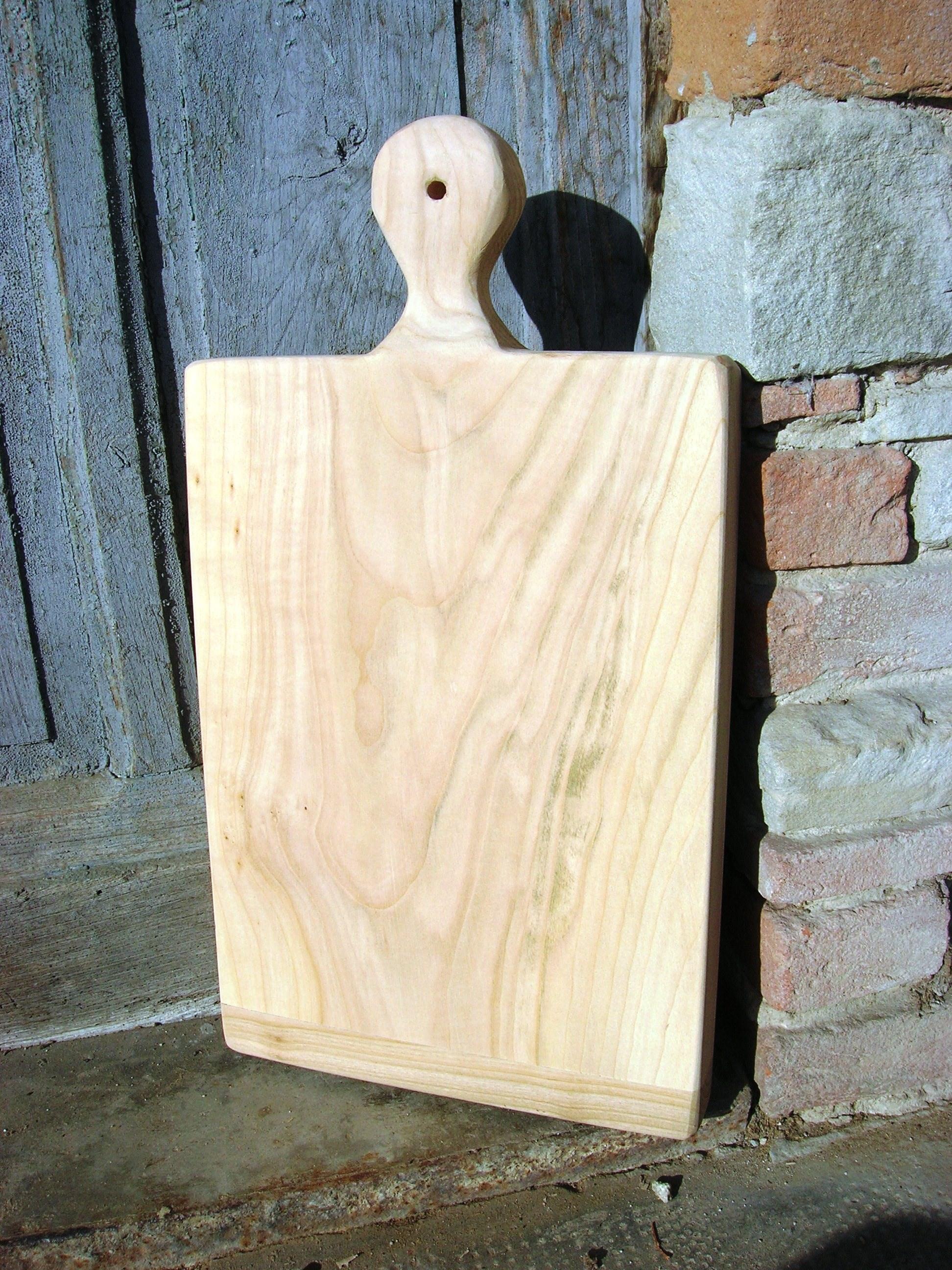 Tagliere artigianale legno massello