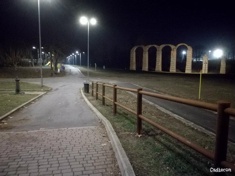 Acqui Terme: I resti dell'Acquedotto Romano con la nuova ciclabile