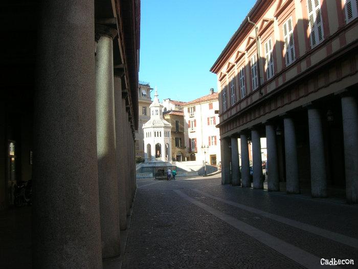 Acqui Terme: Piazza della Fontana della Bollente